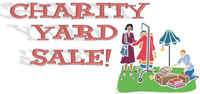Chairity Yard Sale, Saturday September 29, 2012